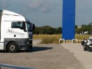camion robado con cargamento de la firma loewe